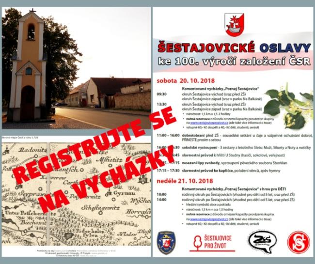 Registrujte se na Poznej Šestajovice